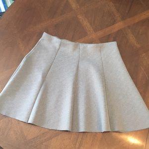 Divided brand grey skater skirt size medium